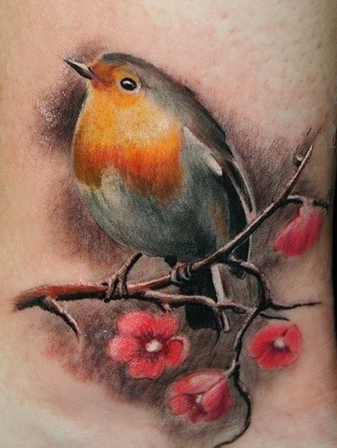 Tatuajes de Aves - Bird Tattoos 2